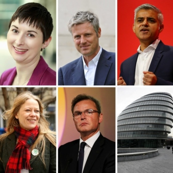 Candidates for London Mayor